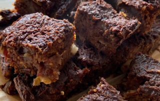 Zuckerfreie Brownies