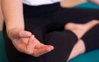 Meditation mit Koerpergut