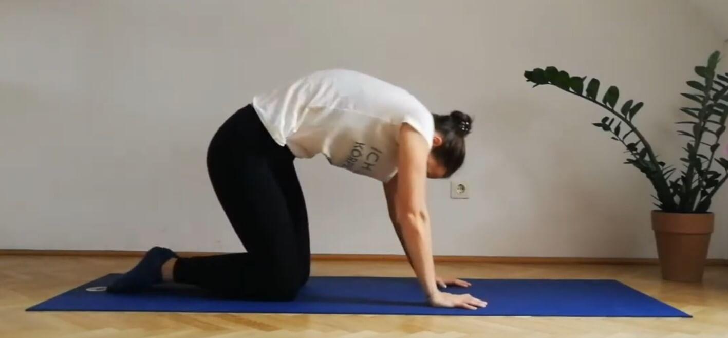 Yoga für Läufer- Übung 1