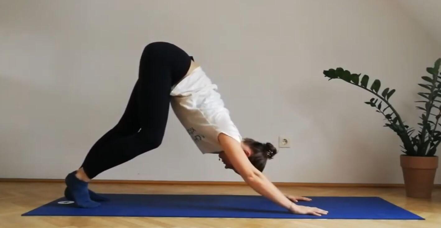 Yoga für Läufer - Übung 2